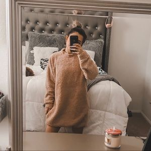 Missguided Rose Sweater Dress